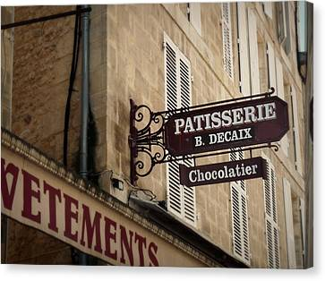 Boulangerie Canvas Print - Dreams Of Chocolate by Studio Yuki