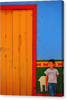 Dreams Of Kids Canvas Print by Skip Hunt