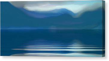 Dreams Of The Lakes Canvas Print