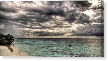 Canvas Print featuring the photograph Dreamy Seaside by Andrea Barbieri