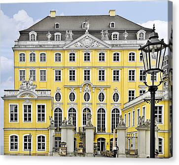 Dresden Taschenberg Palace - Celebrate Love While It Lasts Canvas Print by Christine Till