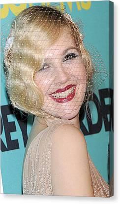 Drew Barrymore, Jessica Lange Canvas Print