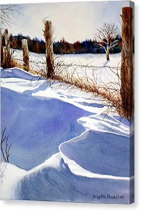 Drifting Canvas Print by Daydre Hamilton