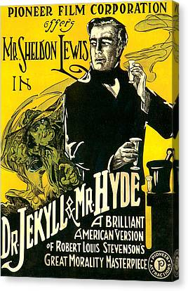 Dr.jekyll & Mr. Hyde, Sheldon Lewis Canvas Print by Everett