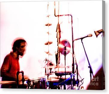 Droid - Drums Amir Ziv Canvas Print by Jim DeLillo
