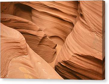 Drowning In The Sand - Antelope Canyon Az Canvas Print by Christine Till