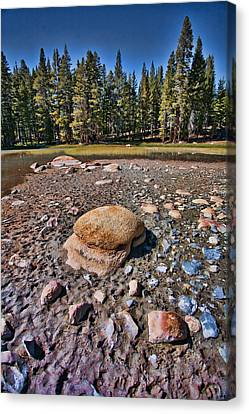 Dry Lake Canvas Print