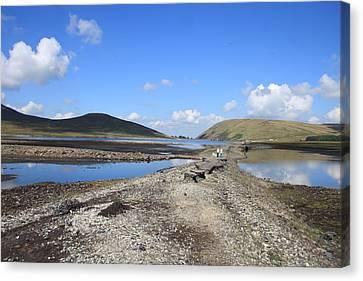 Dry Reservoir Canvas Print by Stephen Kennedy