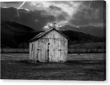 Dry Storm Canvas Print by Ron Jones