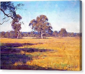 Dry Summer Whittlesea Australia Canvas Print by Graham Gercken