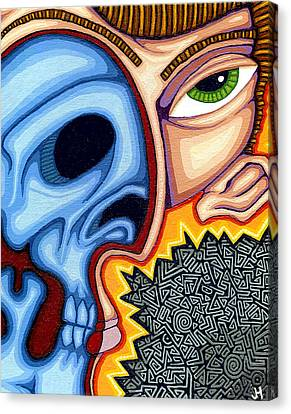 Inner Self Canvas Print - Duality by Jason Hawn