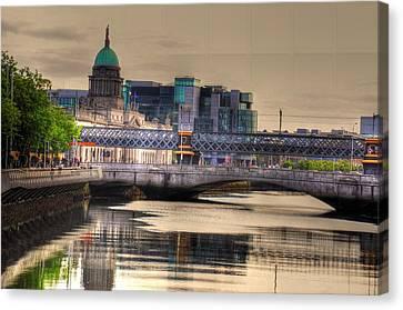 Dublin Canvas Print by Barry R Jones Jr