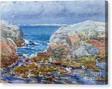 Duck Island Canvas Print by Childe Hassam