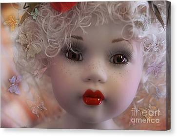 Canvas Print featuring the digital art Dulce My Sweety by Rosa Cobos