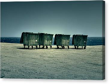 Dumpster Canvas Print by Joana Kruse