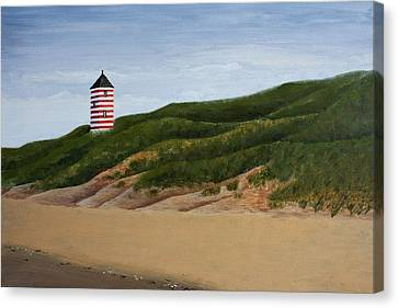 Dunes Canvas Print by Andrea Meyer