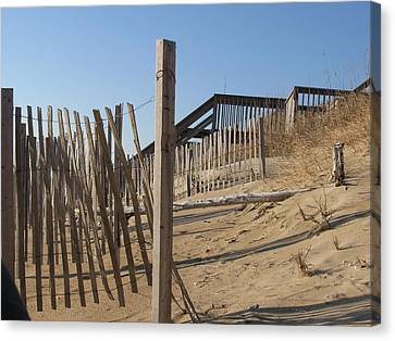 Dunes Canvas Print by Kathy Benton
