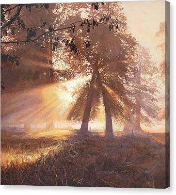 Dunham Canvas Print by Helen Parsley