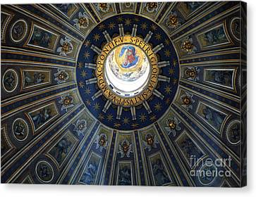 Duomo St Peters Canvas Print by Bob Christopher