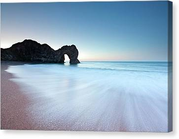 Durdle Door Canvas Print by Doug Chinnery