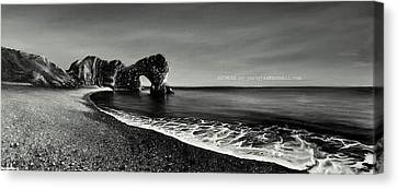 Canvas Print - Durdle Dor. by Jan Farthing