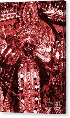 Goddess Durga Canvas Print - Durga by Photo Researchers