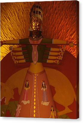 Durga Canvas Print by Prasenjit Dhar