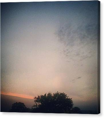 Dusk... #andrography #nexuss #random Canvas Print by Kel Hill