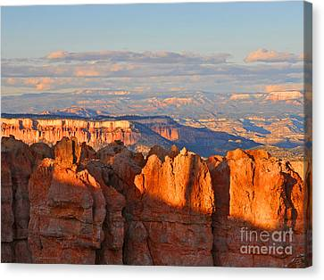 Dusk At Bryce Canyon National Park Canvas Print