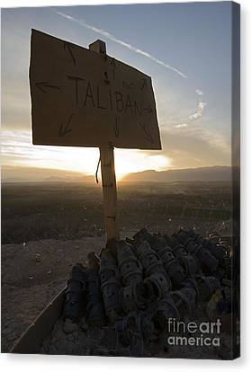Dutch Island In Taliban Territory Canvas Print by Unknown