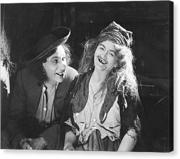 D.w. Griffith: Film, 1922 Canvas Print by Granger