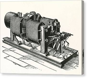 Dynamo Electric Machine Canvas Print by Science Source