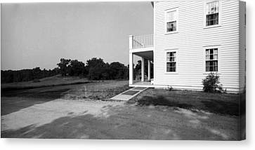 Eagle Frame House Canvas Print by Jan W Faul