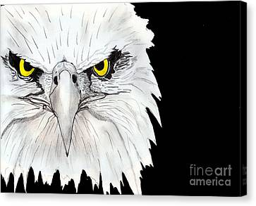 Eagle Canvas Print by Shashi Kumar