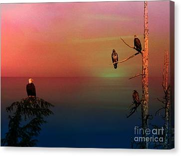 Eagle's View Canvas Print