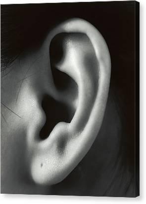 Ear Canvas Print