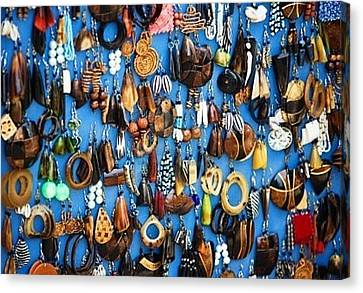 Ear Rings  Canvas Print by Anjeh Ambroise
