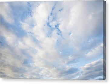 Early Morning Clouds, Nantucket Island Canvas Print by Jack Flash
