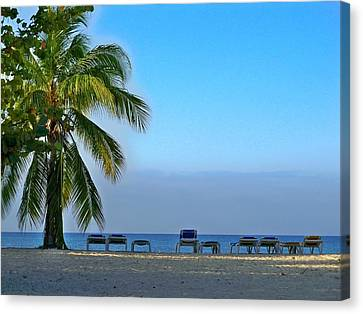 Canvas Print featuring the photograph Early Morning Trinidad Cuba by Lynn Bolt
