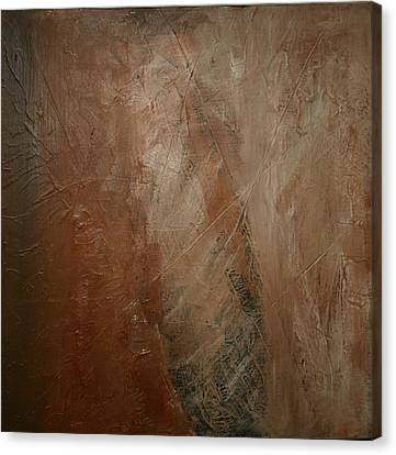 Canvas Print featuring the painting Earthen by Dolores  Deal