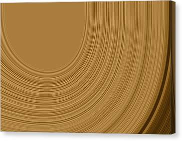 Brown Tones Canvas Print - Earthy Swirls by Bonnie Bruno