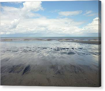 East Coast Seascape Canvas Print by Sarah Couzens