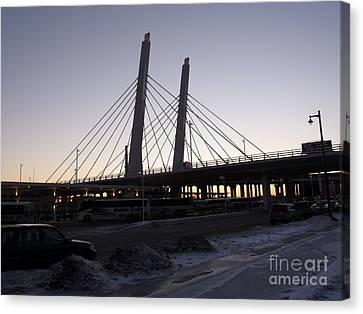 East End Bridge Canvas Print by David Bearden