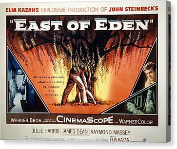 East Of Eden, James Dean, Lois Smith Canvas Print by Everett