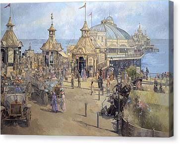 Eastbourne Canvas Print by Peter Miller