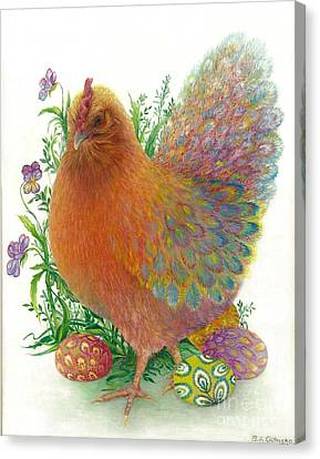 Easter Hen / Sold Canvas Print