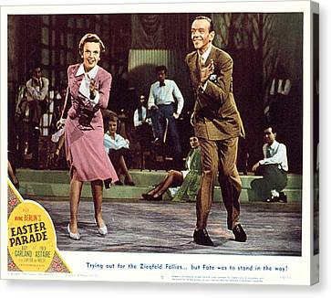 Easter Parade, Judy Garland, Fred Canvas Print by Everett