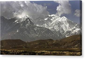 Eastern Afghanistans White Mountains Canvas Print by Everett