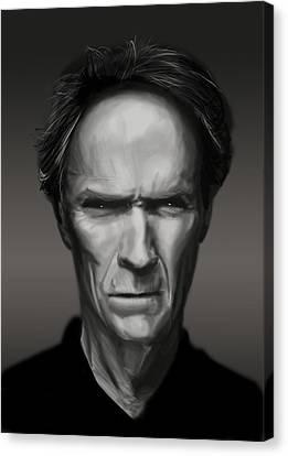Eastwood Canvas Print by Kurt Ramschissel