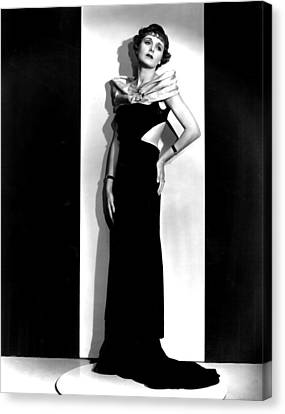 Easy To Love, Mary Astor, 1933 Canvas Print by Everett